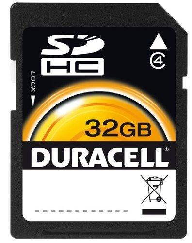 Duracell 32 GB Class 4 Secure Digital Card DU-SD-32GB-R