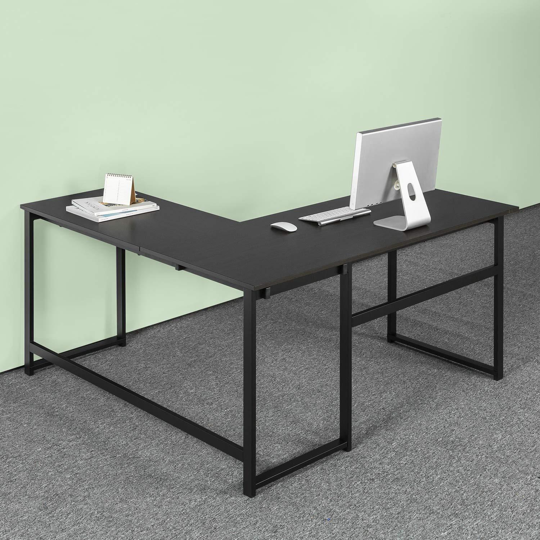 Zinus Urban L-Shaped Corner Computer Desk / Workstation / Home Office /Large