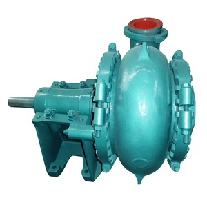 6 inch sand suction dredge pump with diesel engine and gearbox