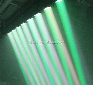 wholesale multi color led light bar 10W RGBW eight eyes moving head beam light