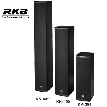 China supplier KK-650 4 inch column speker audio equipment
