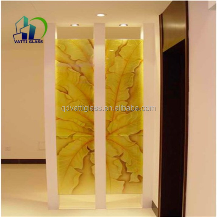 Art Glass Wall Plates/tempered Glass Wall Art Panels/back Painted ...