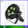 Led flat RGBW slim 4in1 5pcs 10W led par light