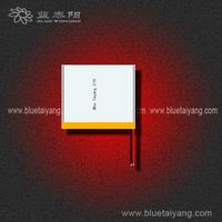 Blue taiyang 805348 2300mAh li ion rechargeable battery 3.7v with pins