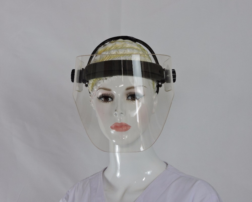 Medical X ray protective 0.12mmpb full face lead mask
