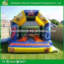 inflatable bouncer moonwalk with inspect for kids, inflatable bouncer