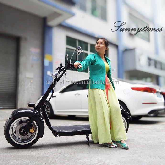 High Quality Two Wheel Electric Scooter 800W Motor With Seat <strong>city</strong> coco scooter