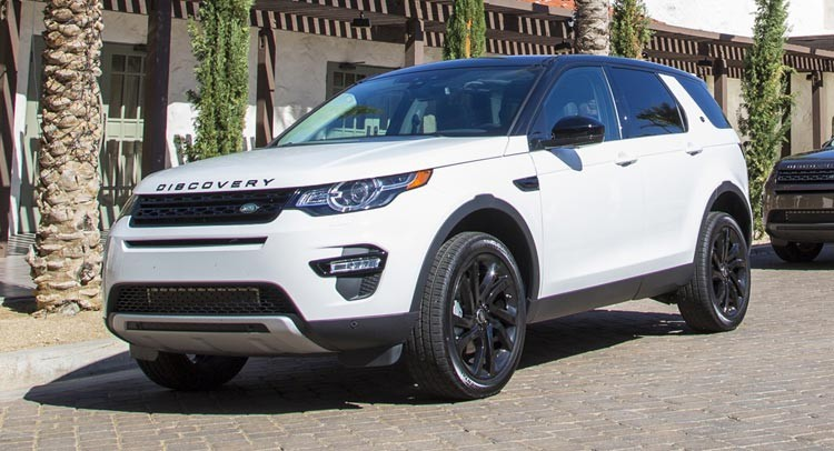 RHD 2017 Land Rover Discovery Sport