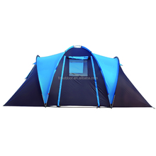 2 Room Waterproof 4 Man Camping Family Tent
