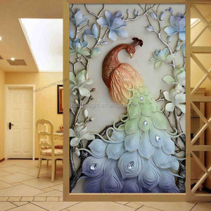 easier than cross stitch Animal Peacock Flower special rhinestone paste painting