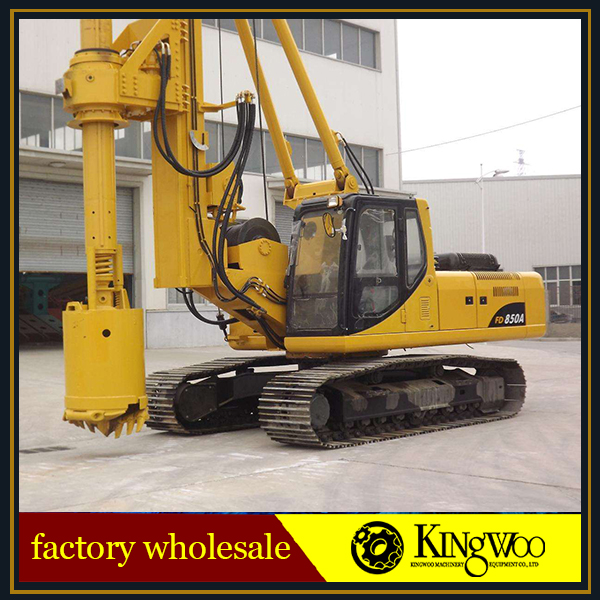 Foundation Construction Piling Used Rotary Drilling Rig Machine On Sale
