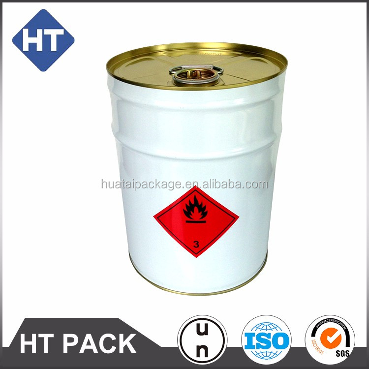 5gallon/20L conical or round metal tight head pail 0.35mm opening metal handle