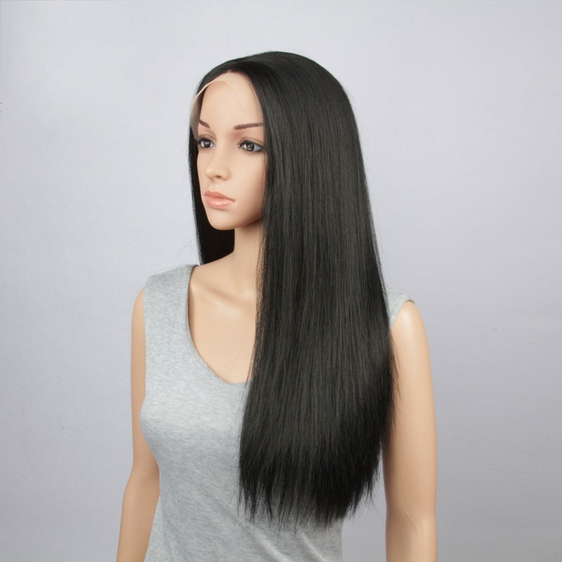 lace front wig baby hair 34 inch indian hair full lace wig