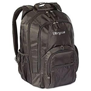 "Targus 15.4"" Groove Laptop Backpack, Nylon, 13 x 7-3/4 x 18, Black (TRGCVR600) Category: Laptop Cases and Sleeves"