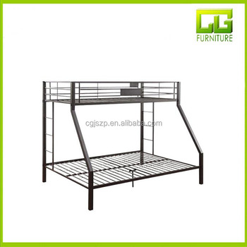 Twin Over Double Bunk Bed Metal Beds Kids Product On Alibaba