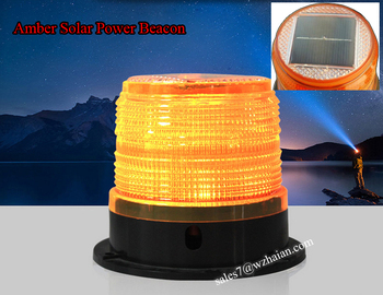 Amber Led Beacon Light Marian Solar Tbh 628s Lights Product On Alibaba