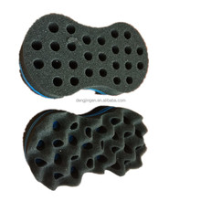 Small Big Wave holes hair roller sponge Cold Heat hair curl sponge foam hair removal
