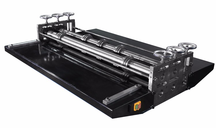 China manufacturer 1.5m duct solid five-line four roller beading machine for sheet metal