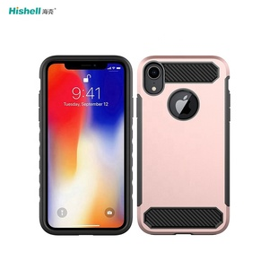 Hot Selling TPU PC 2 In 1 Shockproof Mobile Phone Case For Iphone XS Max