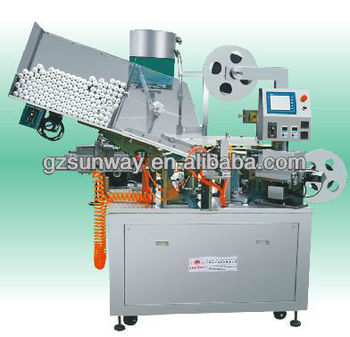 Automatic Tube Holing and Aluminum Foil Sealing and Capping Machine