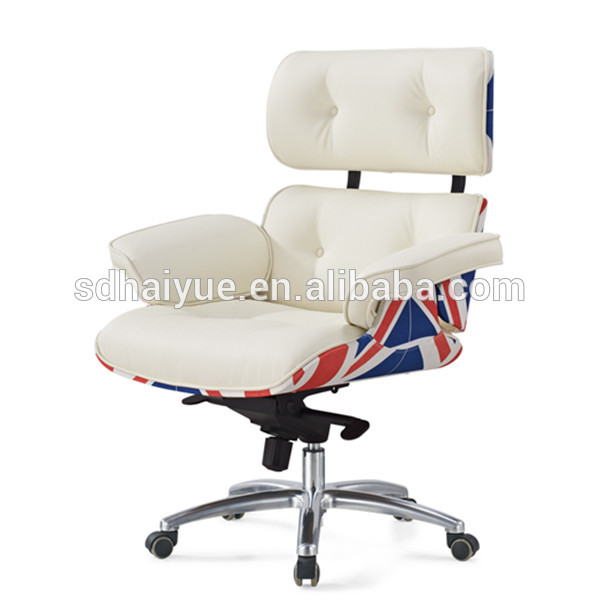 European Stlye Luxury Genuine Leather President Boss Office Chair