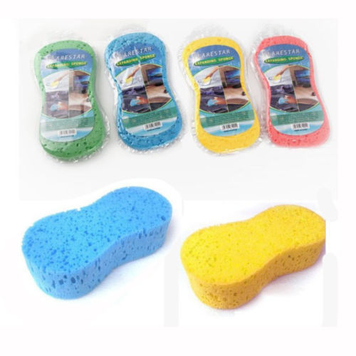 1 x New Multipurpose Cleaner Tool Car Cleaning Clean Wash Washing Sponge Random