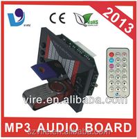 china supplier Digital Audio record car mp3 player with usb sd radio