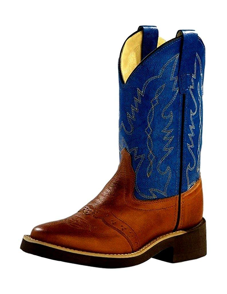 1729I Square Toe Old West Toddlers/' Crepe Sole Cowboy Boot
