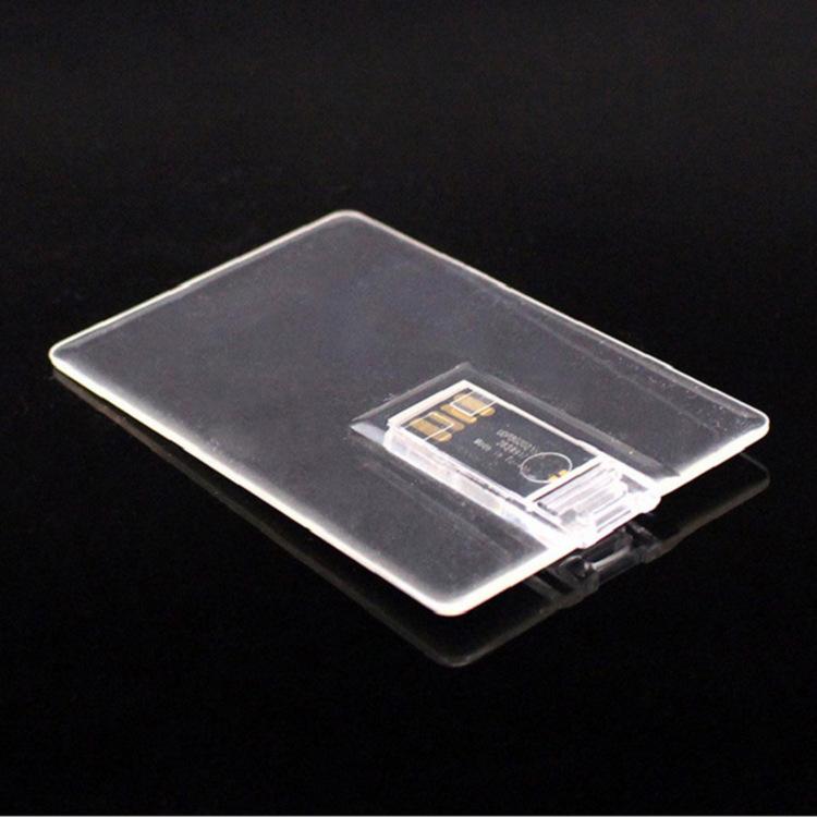 Originale Formato Carta di Credito Flash Pendrive 2 gb 4 gb 16 gb Scheda di Memoria Drive Usb Memoria Flash Card Trasparente 8 16 gb