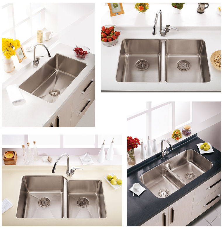 10 Years Quality Warranty Modern Design Custom Made Stainless Steel kitchen sink Pakistan Kitchen Sink