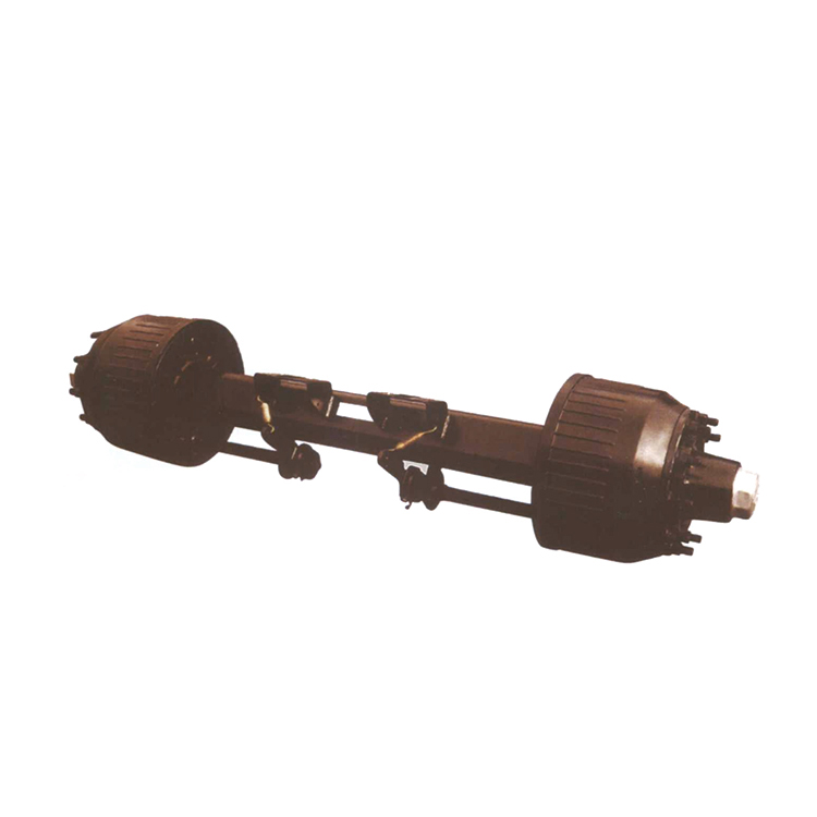 Factory price semi trailer suspension components axle assembly for construction machinery