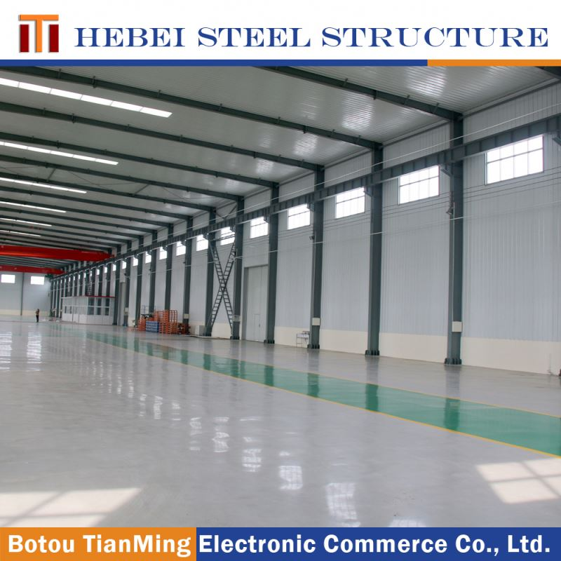 home furniture steel building and sandwich panel steel structure warehouse in workshops and plants