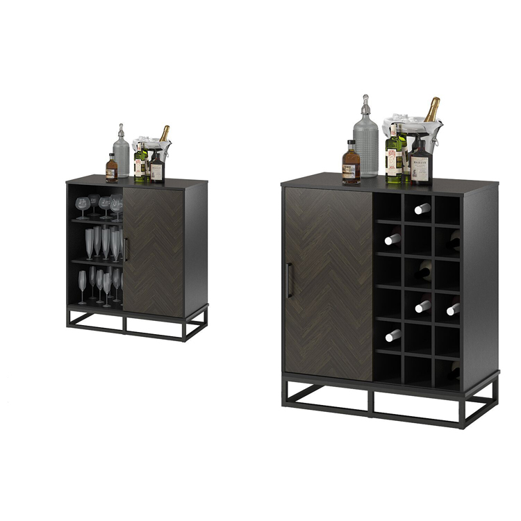 ZASO007 Hot sale High quality wooden wine storage cabinet