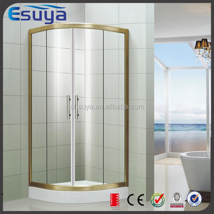 호텔 샤워 욕조 2 사이드 샤워 실 욕실 샤워 부스 강화 유리 문 ...