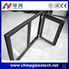 China famous factory supply aluminum profile float/tempered glass door windows