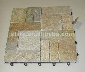 Interlocking Outdoor Deck Tiles