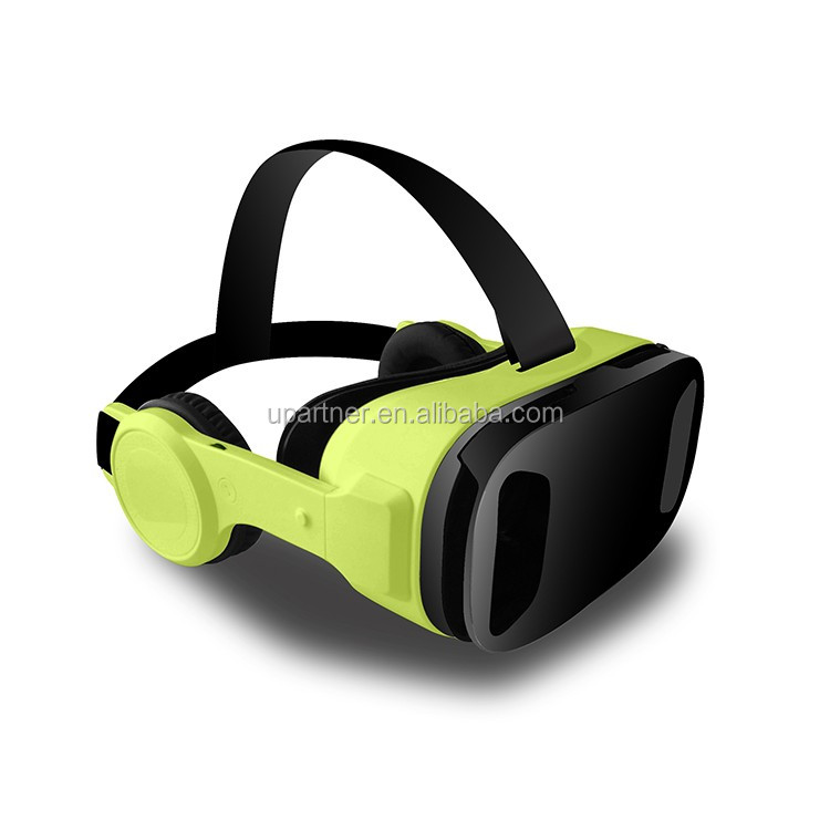 2017 gift new vr case <strong>Fashional</strong> style for 3d Movies Download Has Built-in Earphones