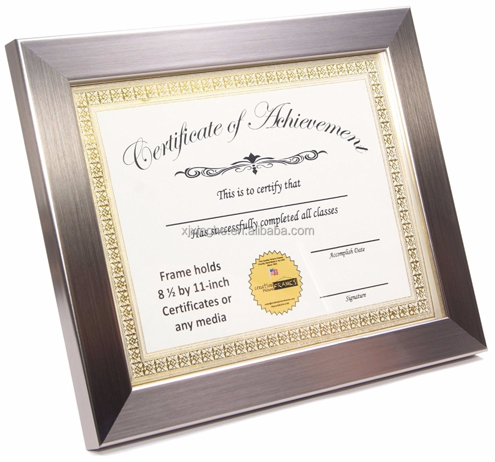 8x10 Inch Certificate Frames To Display The Certificate Buy Glass Document Frame 8x10 Certificate Frames Cheap Certificate Frames Product On