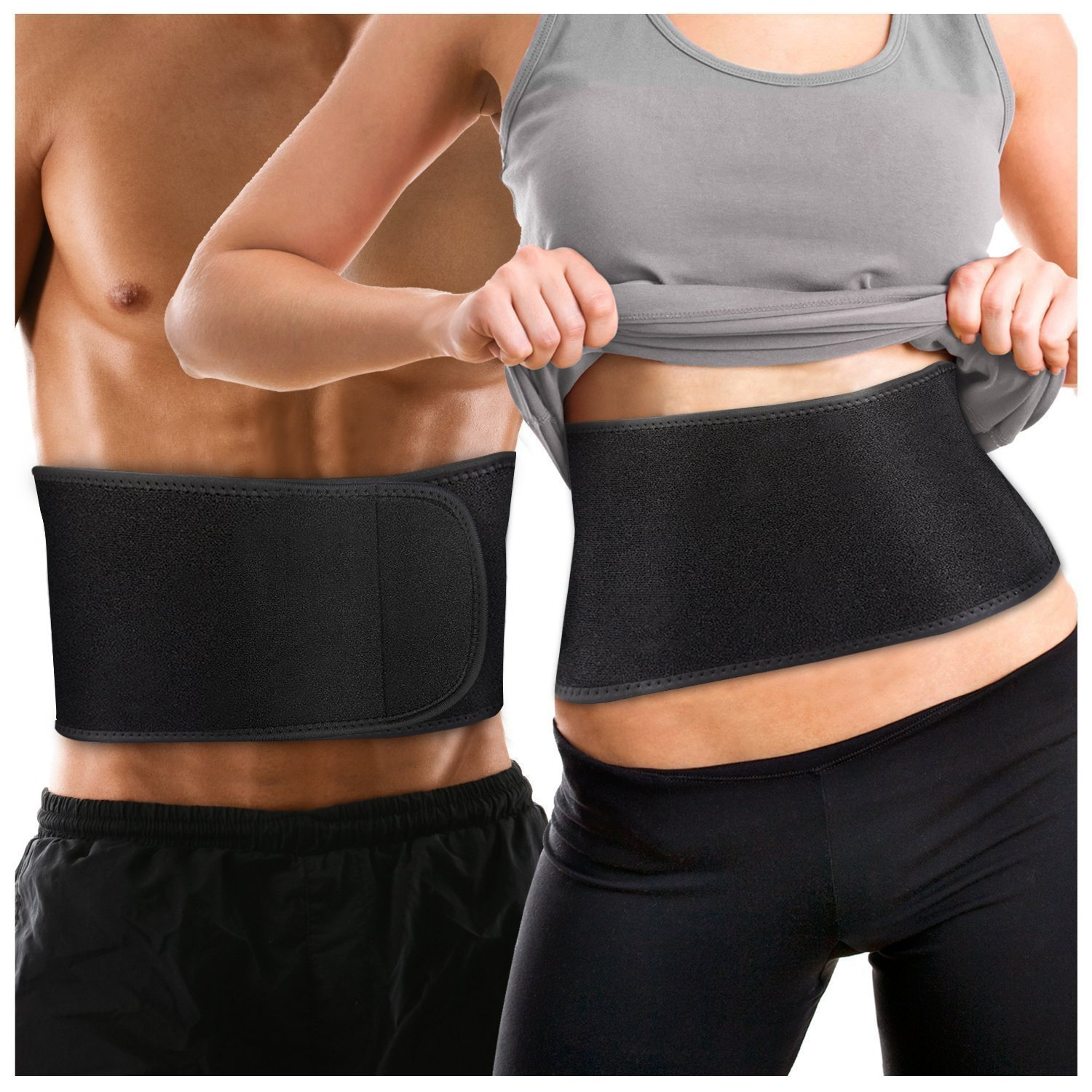 7bd1a640cf Get Quotations · Waist Trimmer Belt for Men   Women