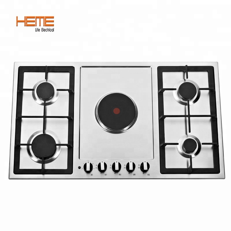 Kitchen Electrical Kitchen Appliances Stainless Steel Gas And Electric Cooktop 90cm With 5 Burner Gas Hob Pge9050s A1ci Buy Hot Plates