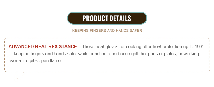 Extra long professional silicone baking oven mitt bbq grill gloves heat resistant non-slip kitchen oven gloves for cooking