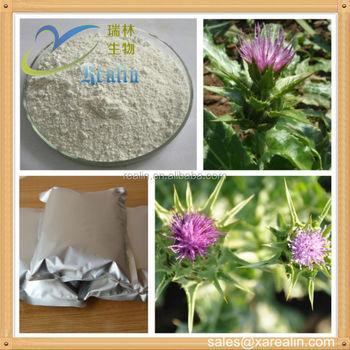 Liver protection 80% Silymarin Powder Milk Thistle Extract