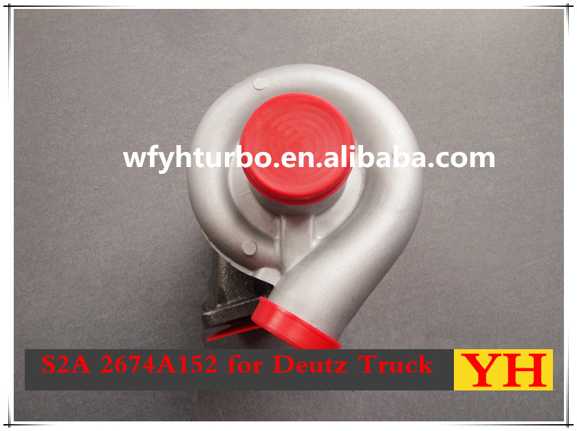 WEIFANG YUHANG turbo S2A 315300 311511 2674A152 with B4FM1013 for Deutz Truck