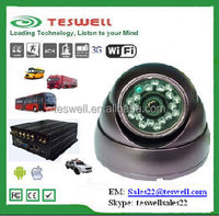 Teswelltech High Resolution 700TVL IR Dome Camera sony ccd car camera(TS-121)