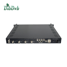Multiplex,scrambler,Converter IP video live streaming to QAM/DVB-C cable tv equipment in CATV headend systems