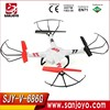 UAV 2.4G 4CH 6axis Gyro with 2MP HD Camera Screen with LED Lights V686G Outdoor quadcopter FPV Headless Mode RC Drone