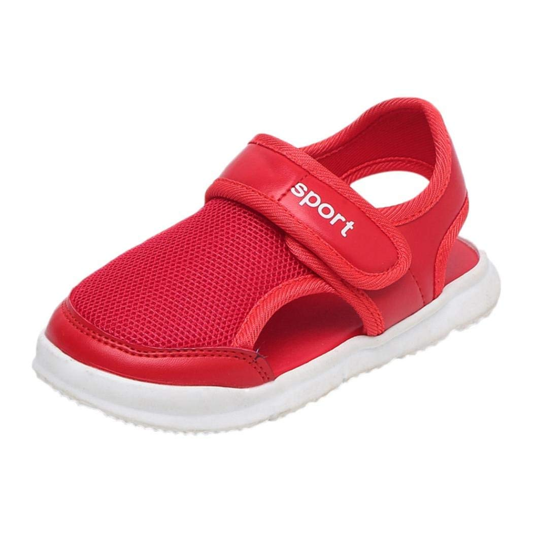 5bc26d695b804 Get Quotations · WOCACHI Baby Girls Shoes Letter Mesh Baby Sandals Beach  for Children Boys Girls