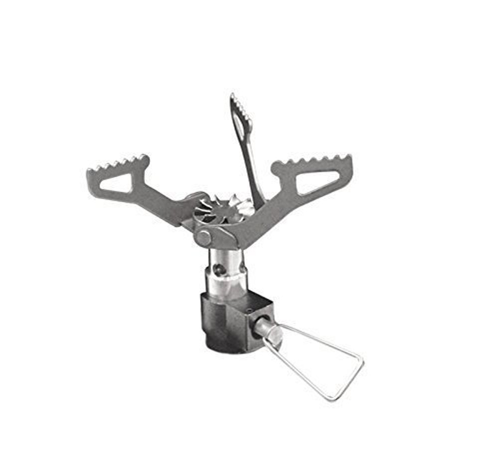 ChezMax Ultralight Mini Outdoor Backpacking Camping Stove Camping Gas Stove Outdoor Burner Cooking Stove