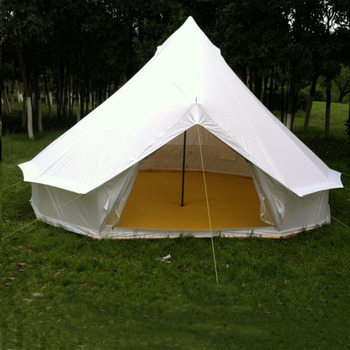 OEM 5M cotton canvas marquee tent gl&ing bell tent for c&ing & Oem 5m Cotton Canvas Marquee Tent Glamping Bell Tent For Camping