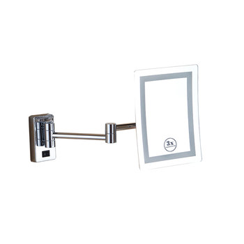 Fuao Wall Mount 5x Bathroom Vanity Mirror Hinges
